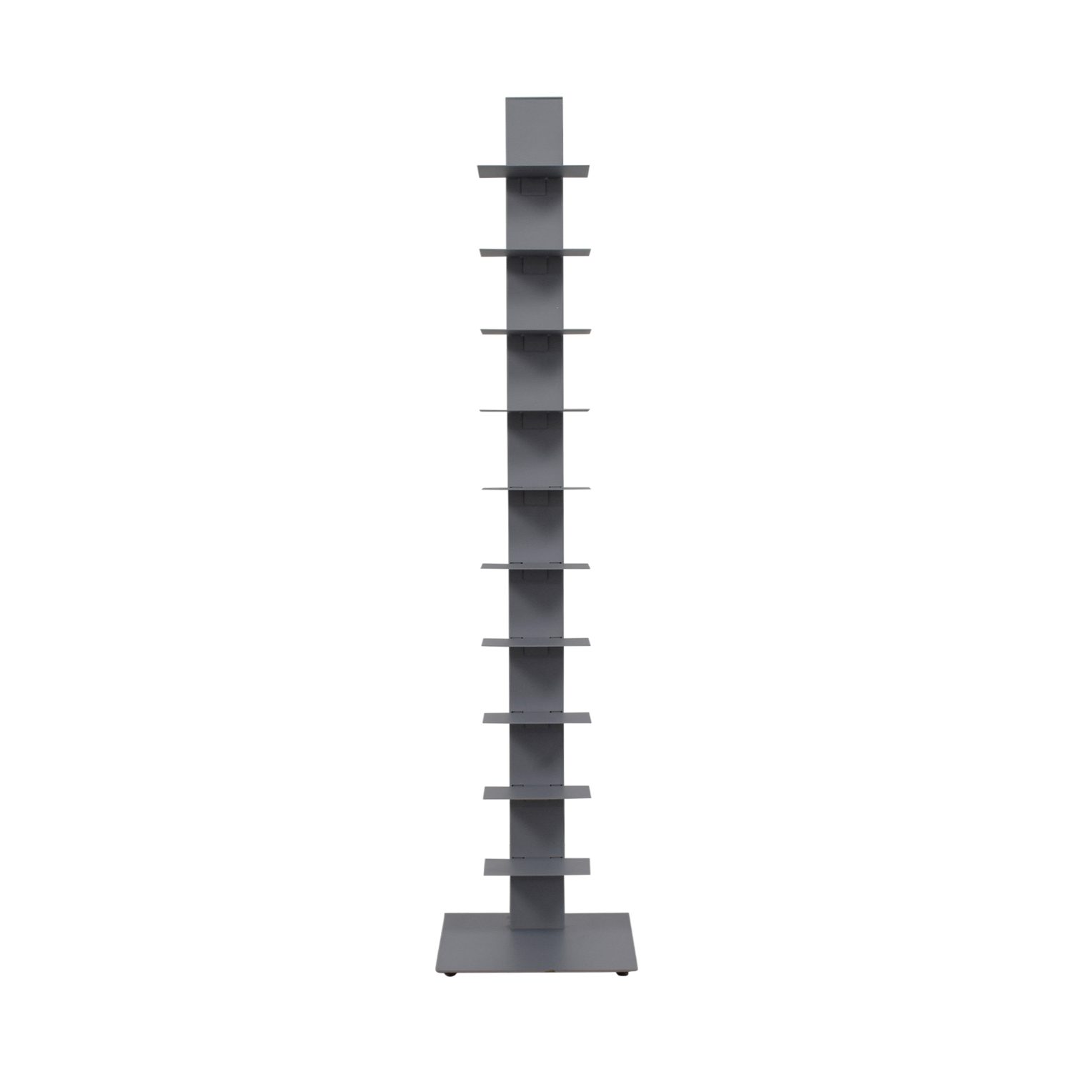 buy  Vertical Grey Metal Bookcase online