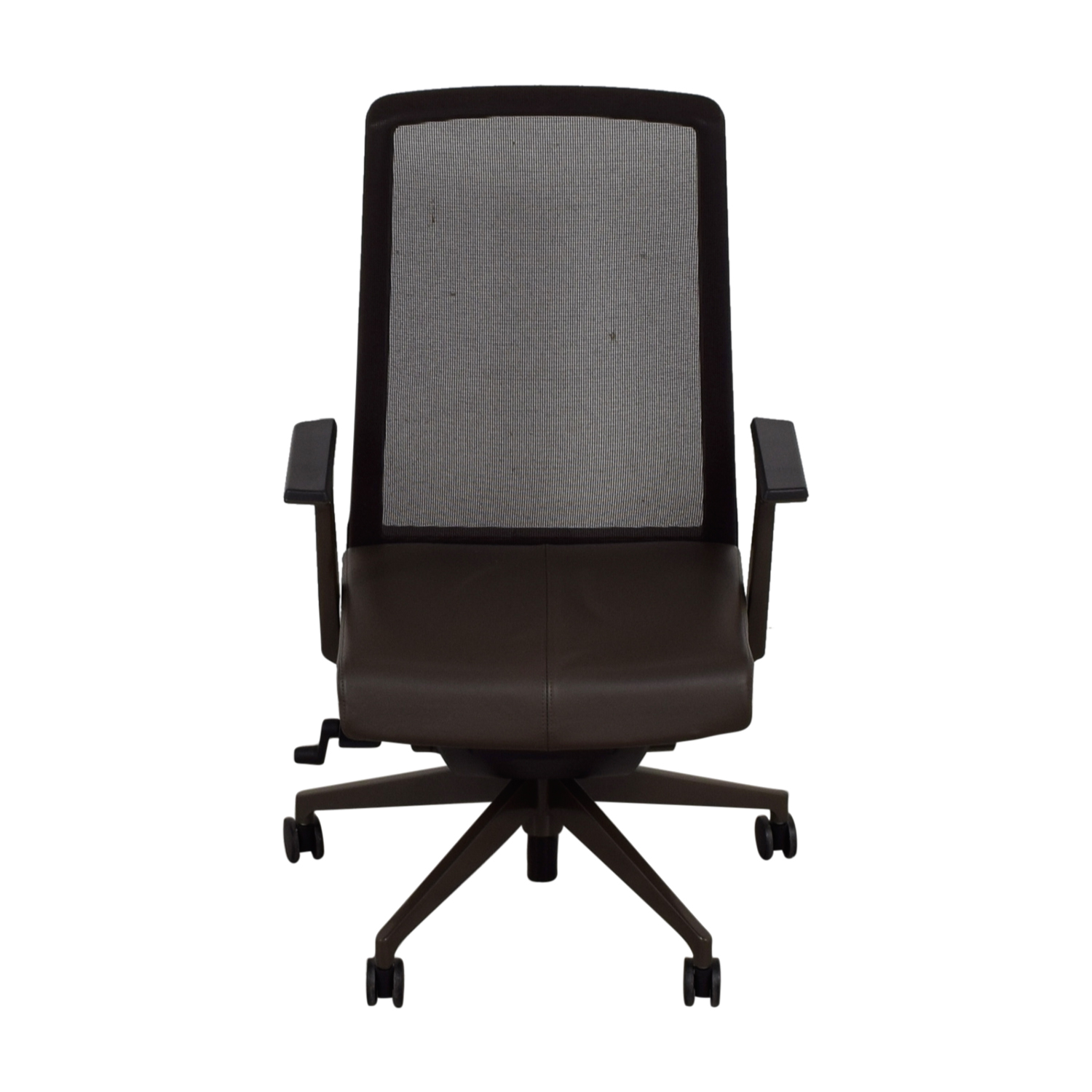Crate & Barrel Crate & Barrel Haworth Brown Very Task Office Chair second hand