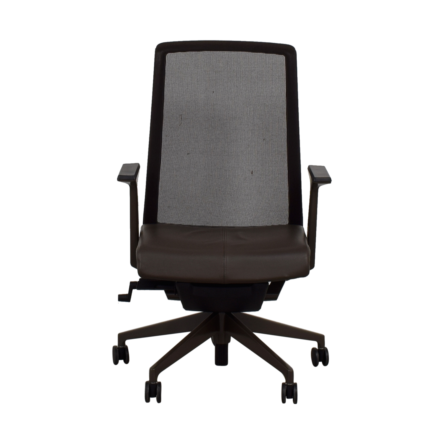 shop Crate & Barrel Crate & Barrel Haworth Brown Very Task Office Chair online