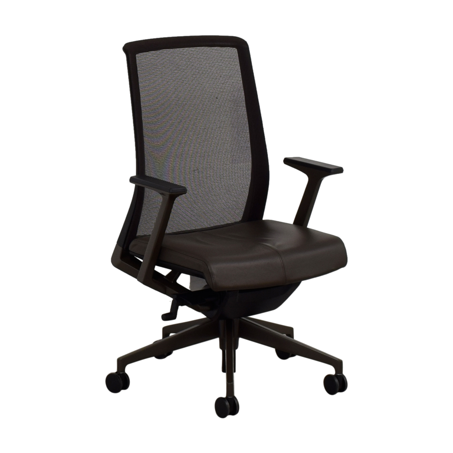 Crate & Barrel Crate & Barrel Haworth Brown Very Task Office Chair Chairs