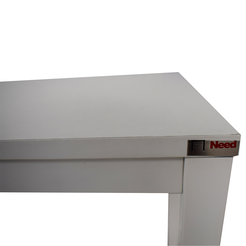 Need Need White Office Desk White