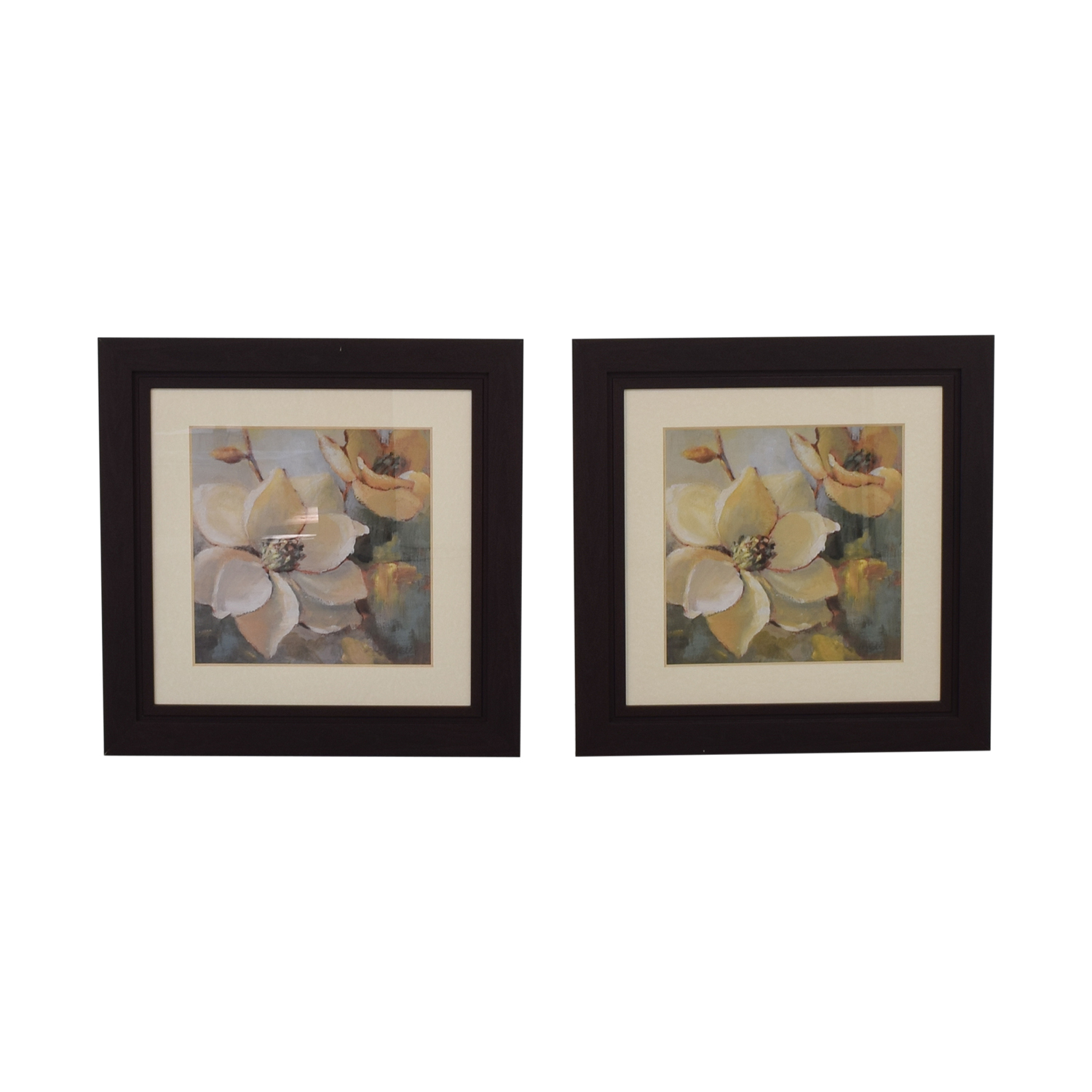 Floral Framed Art Work used