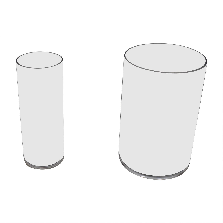 Pottery Barn Pottery Barn Glass Vases nyc