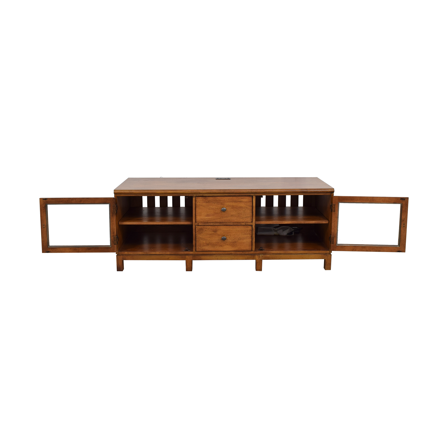 buy Ethan Allan Ethan Allen Wood Two-Drawer Buffet or Media Center online
