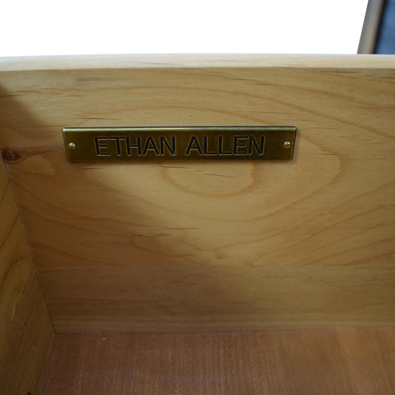 buy Ethan Allan Ethan Allen Wood Two-Drawer Buffet or Media Center online