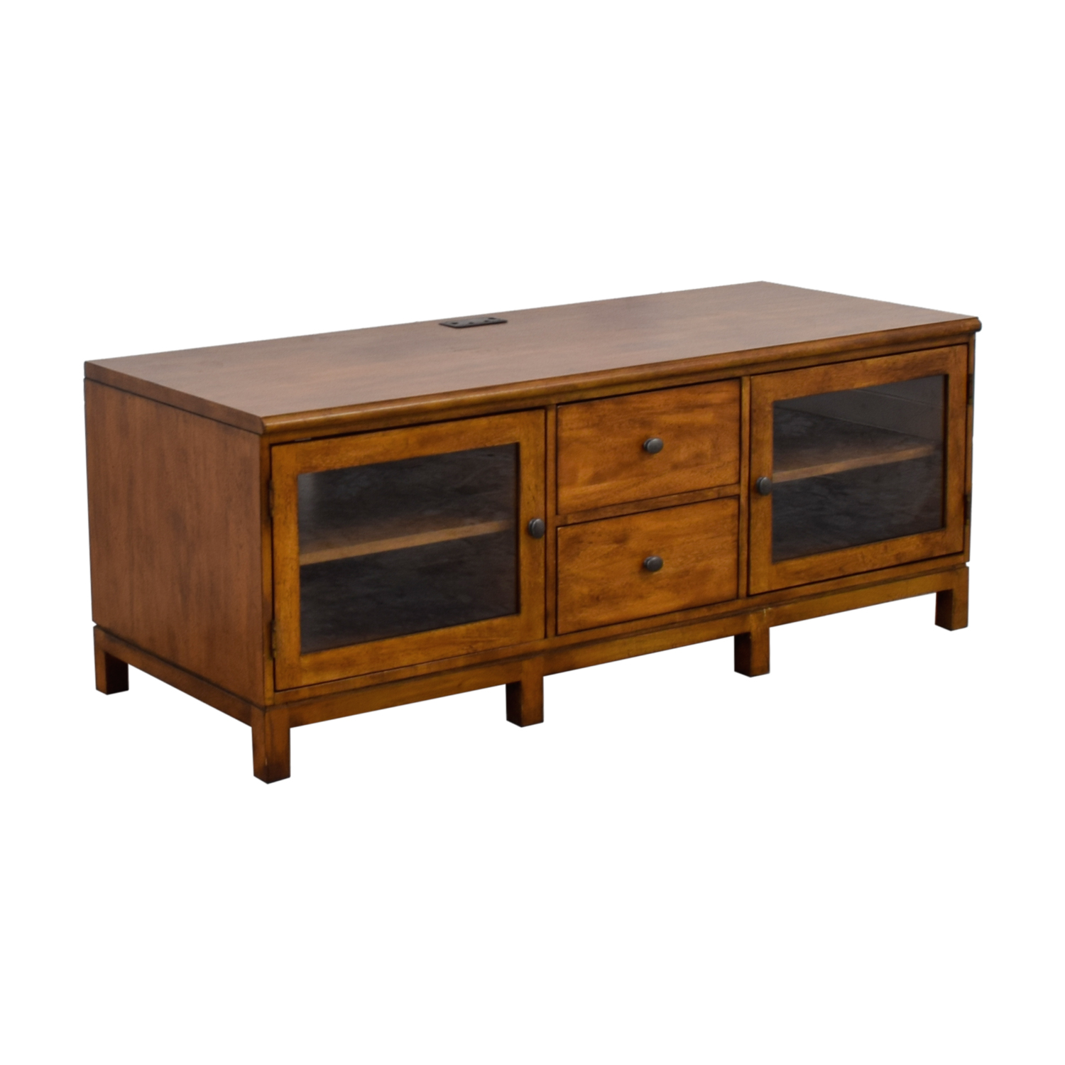 Ethan Allan Ethan Allen Wood Two-Drawer Buffet or Media Center coupon