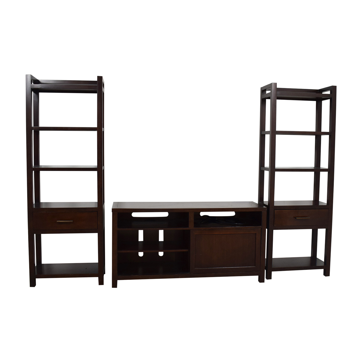 Crate & Barrel Crate & Barrel Media Center with Bookshelves price