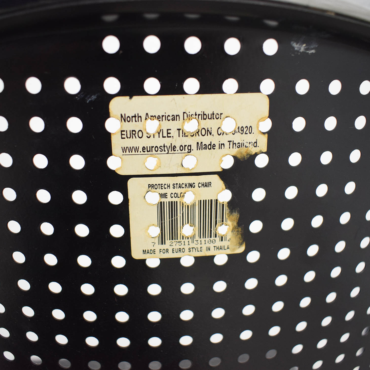 Buy Manhattan Home Design Manhattan Home Design Protech Black Steel  Stacking Chairs Online ...