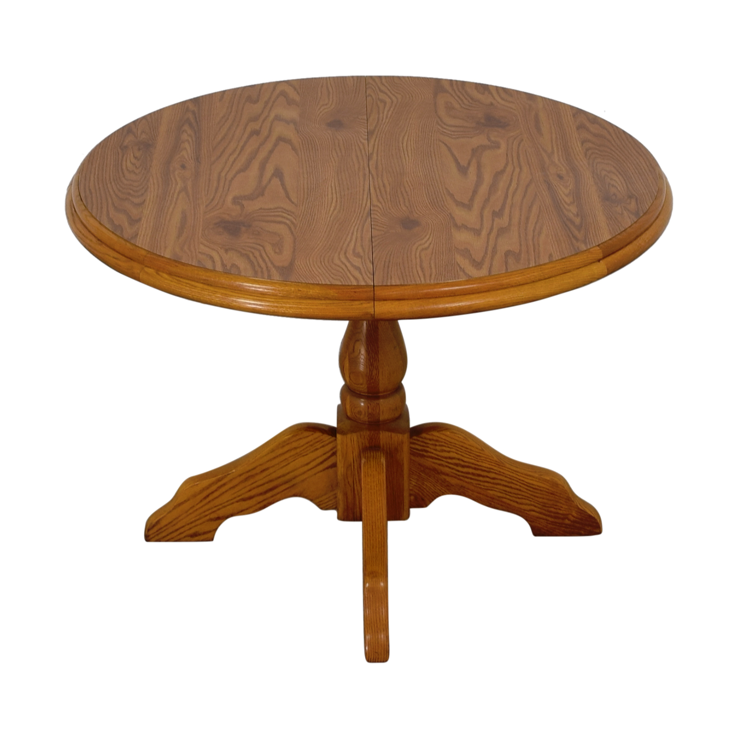 Virginia House Virginia House Round Dining Table with Leaf for sale