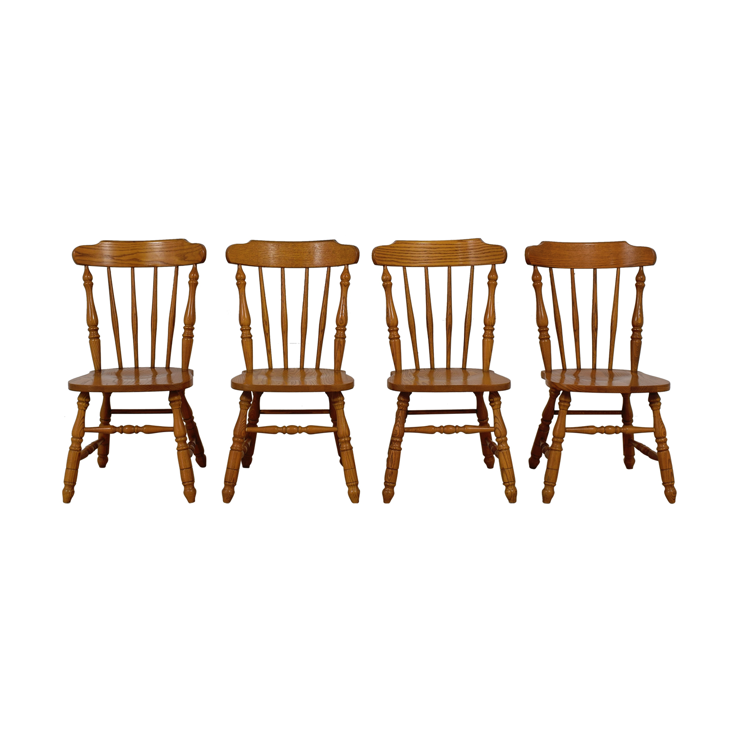 Virginia House Virginia House Wood Dining Room Chairs used