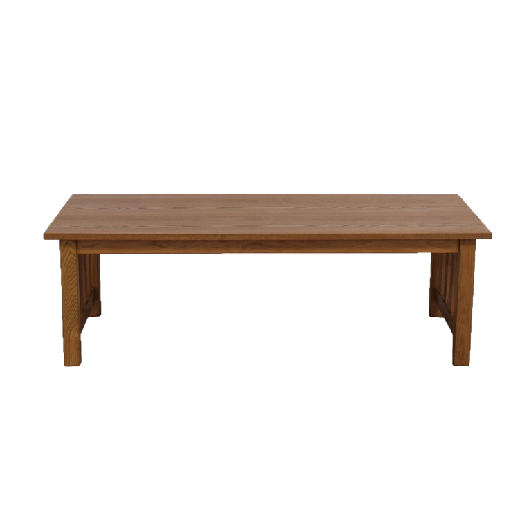 Mission Style Coffee Table on sale