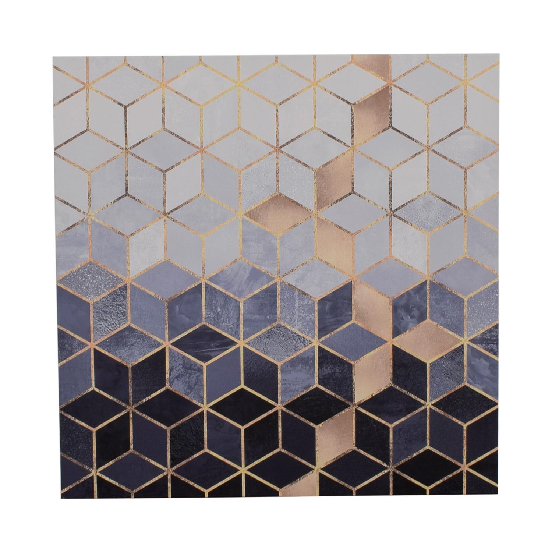 Elisabeth Fredrikson Soft Blue Cubes Print discount