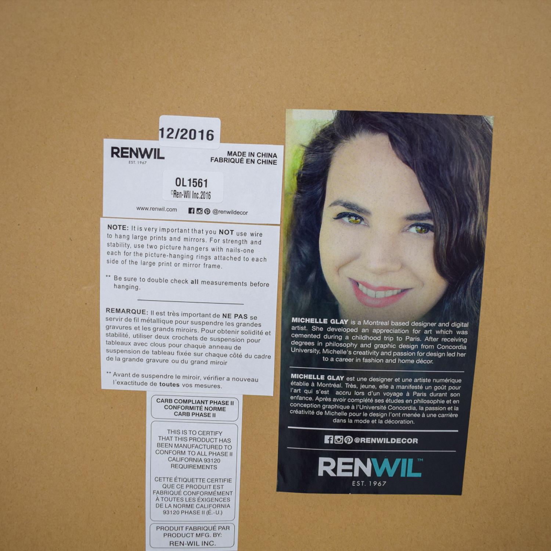 Renwil Michelle Girl in Pop Print Renwil