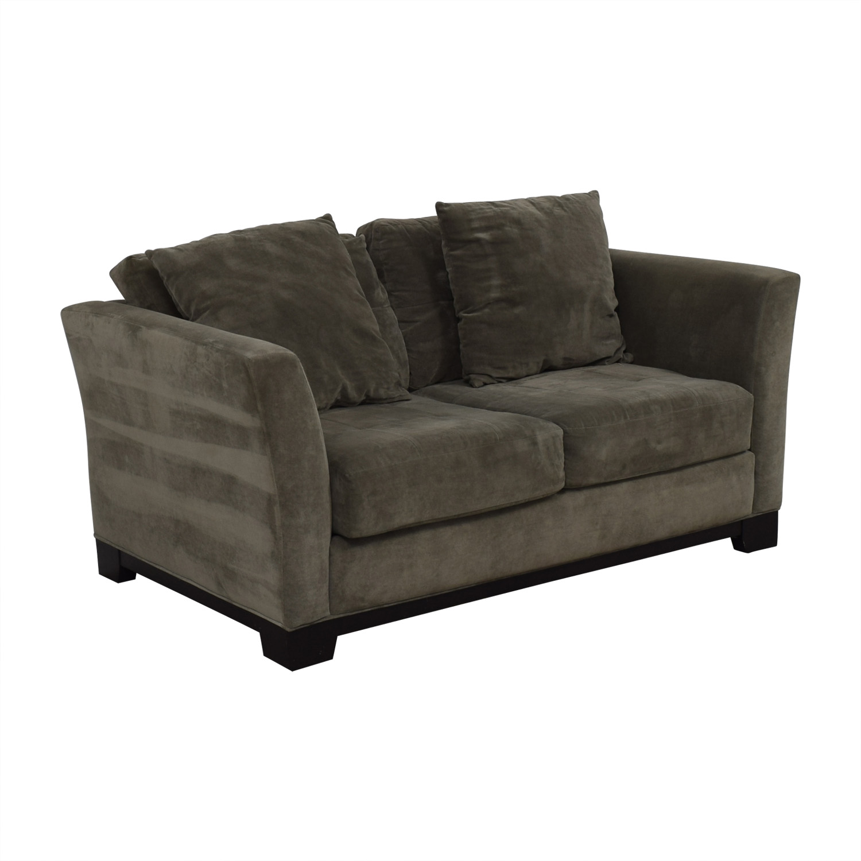 Fabulous 66 Off Macys Macys Gray Loveseat Sofas Gamerscity Chair Design For Home Gamerscityorg