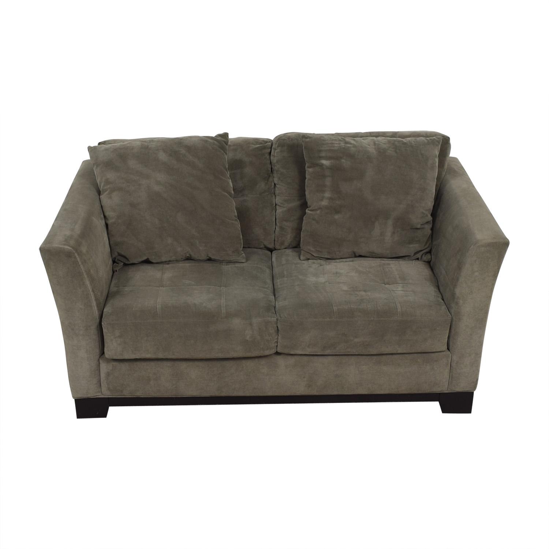 Excellent 66 Off Macys Macys Gray Loveseat Sofas Gamerscity Chair Design For Home Gamerscityorg