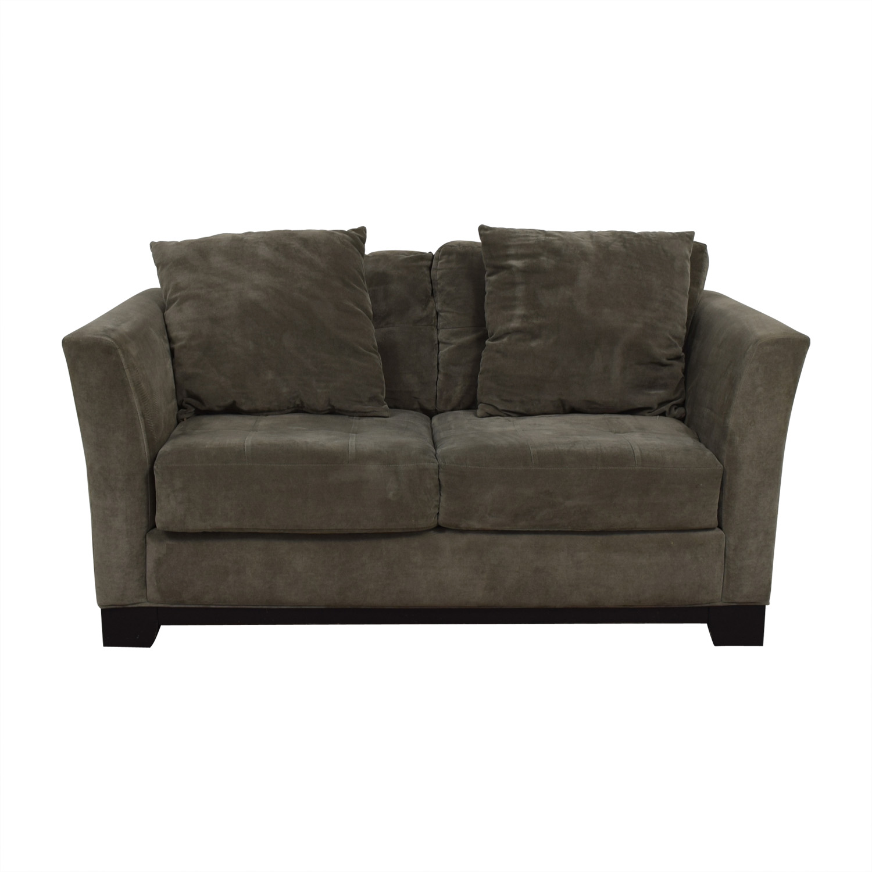 Fabulous 66 Off Macys Macys Gray Loveseat Sofas Pabps2019 Chair Design Images Pabps2019Com