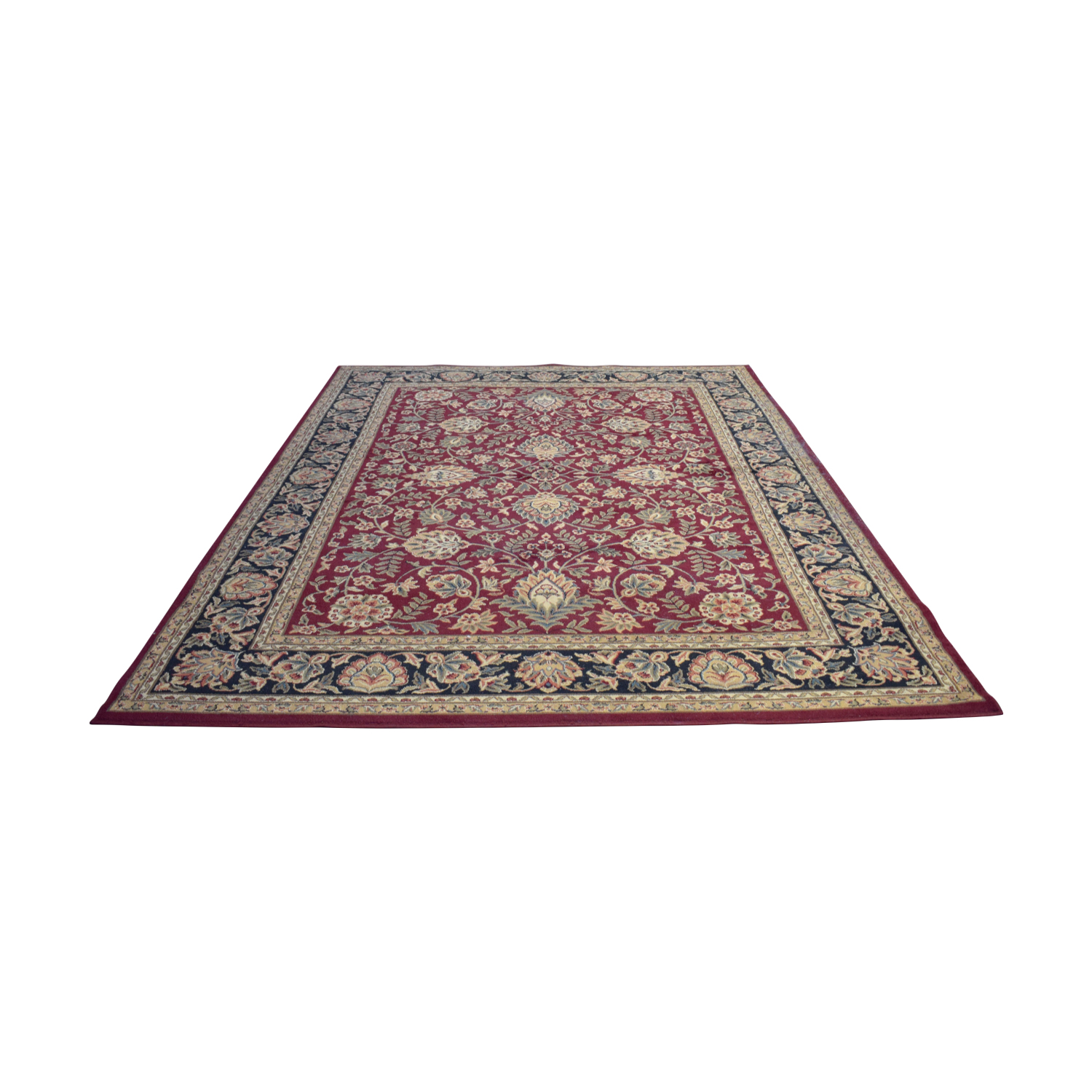 Home Depot Home Depot Burgundy Multi-Colored Rug coupon