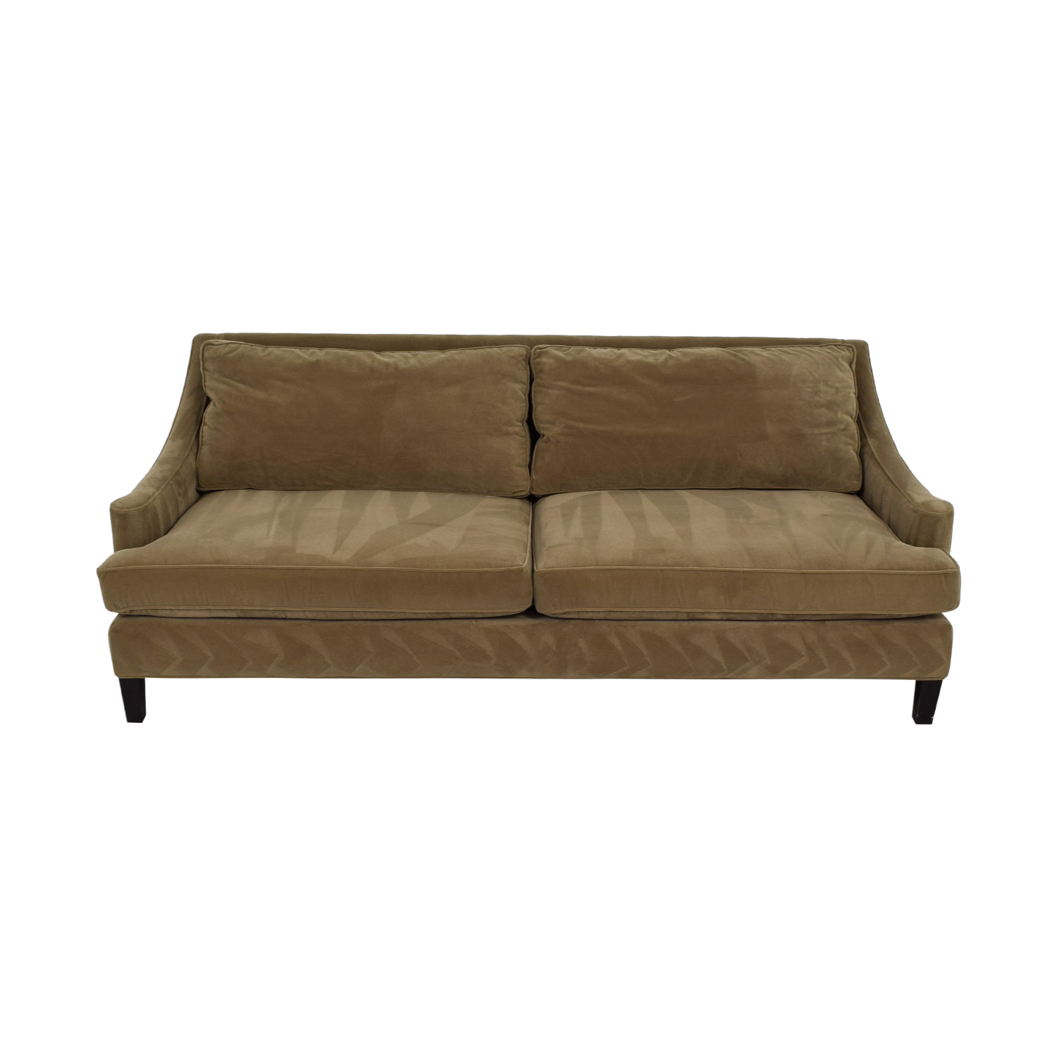 Lillian August Nicole Olive Green Two-Cushion Sofa / Sofas