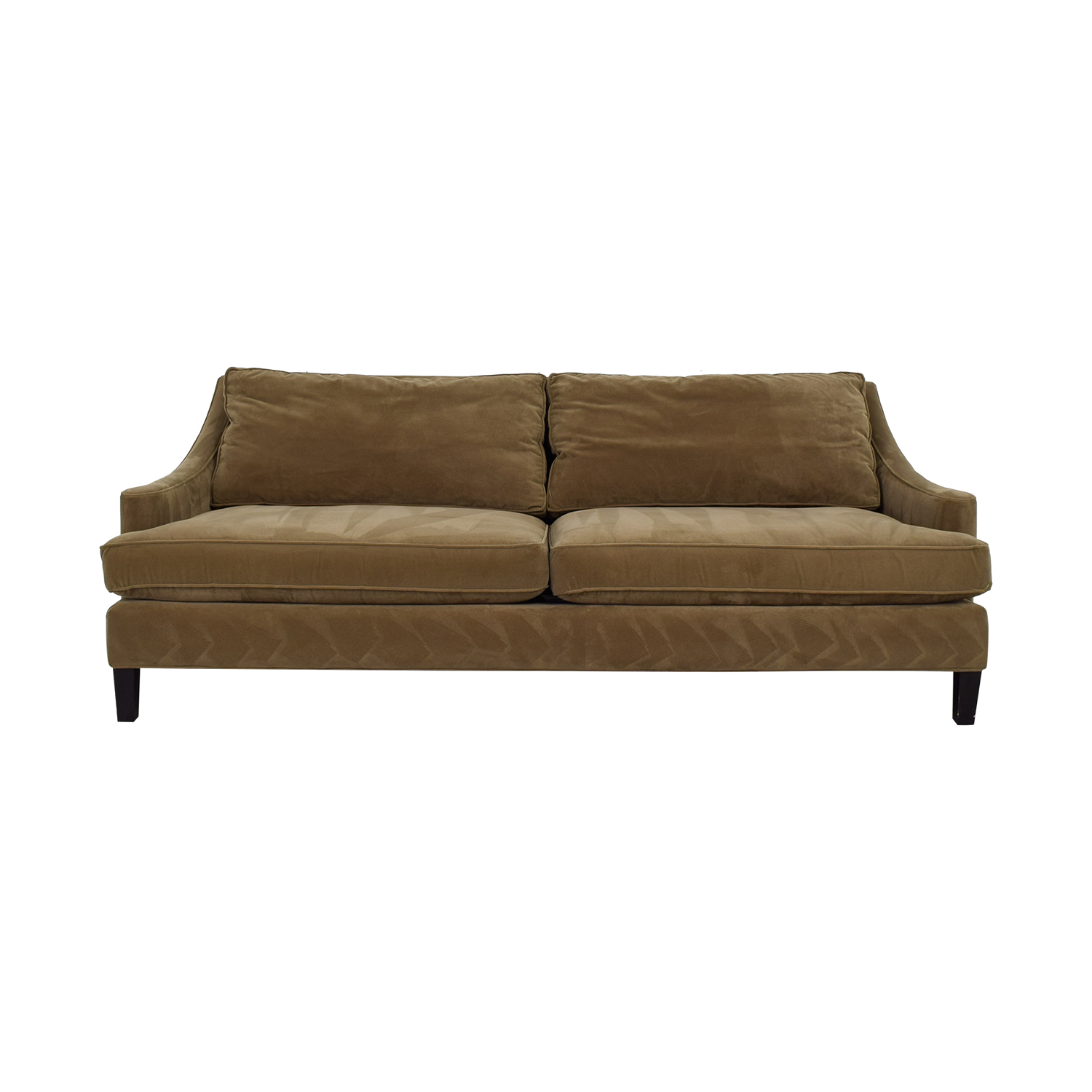 Lillian August Lillian August Nicole Olive Green Two-Cushion Sofa