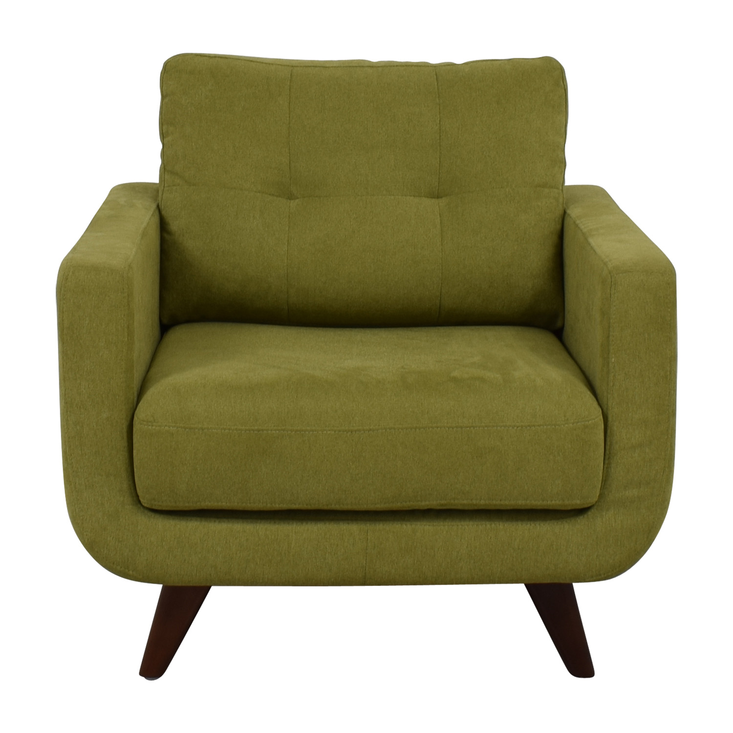 buy Lime Mid Century Accent Chair