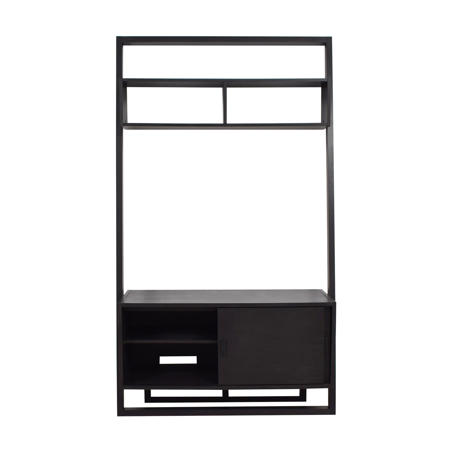 Crate & Barrel Leaning TV Stand / Storage