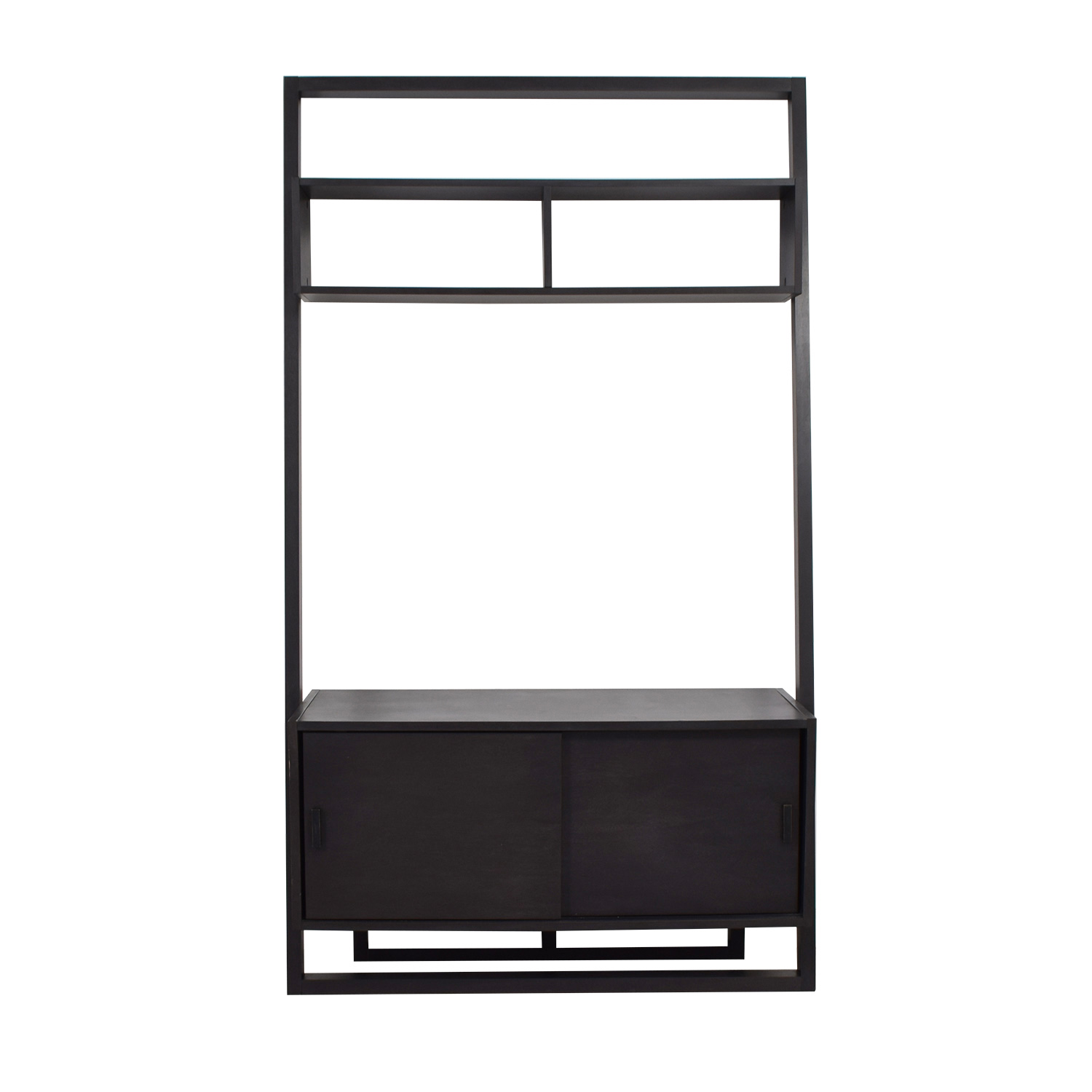 Crate & Barrel Crate & Barrel Leaning TV Stand for sale