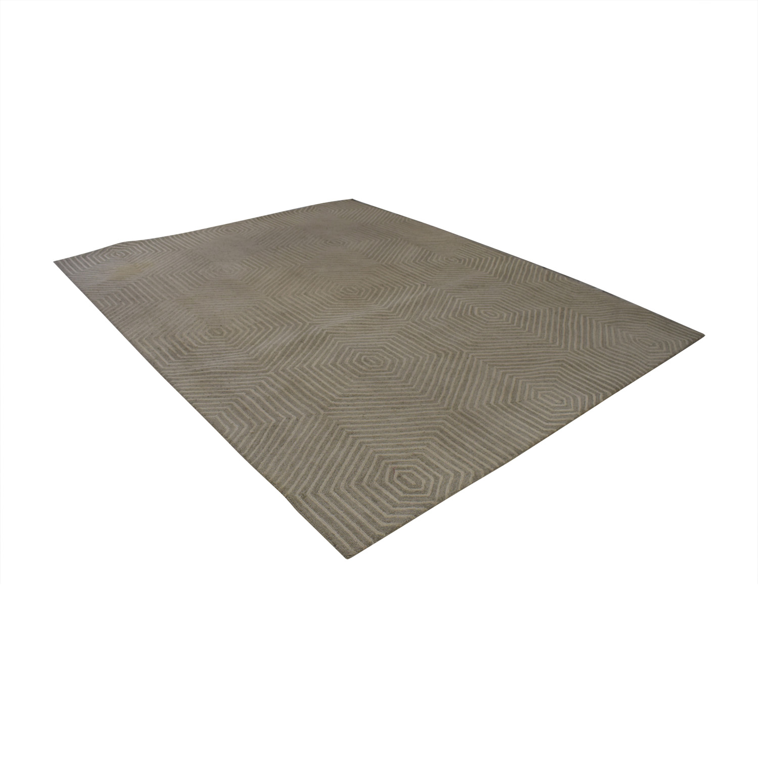 buy Homegoods Grey and Beige Wool Rug Homegoods Rugs