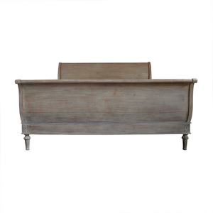 Restoration Hardware Restoration Hardware Empire Rosette Sleigh King Bed with Footboard for sale