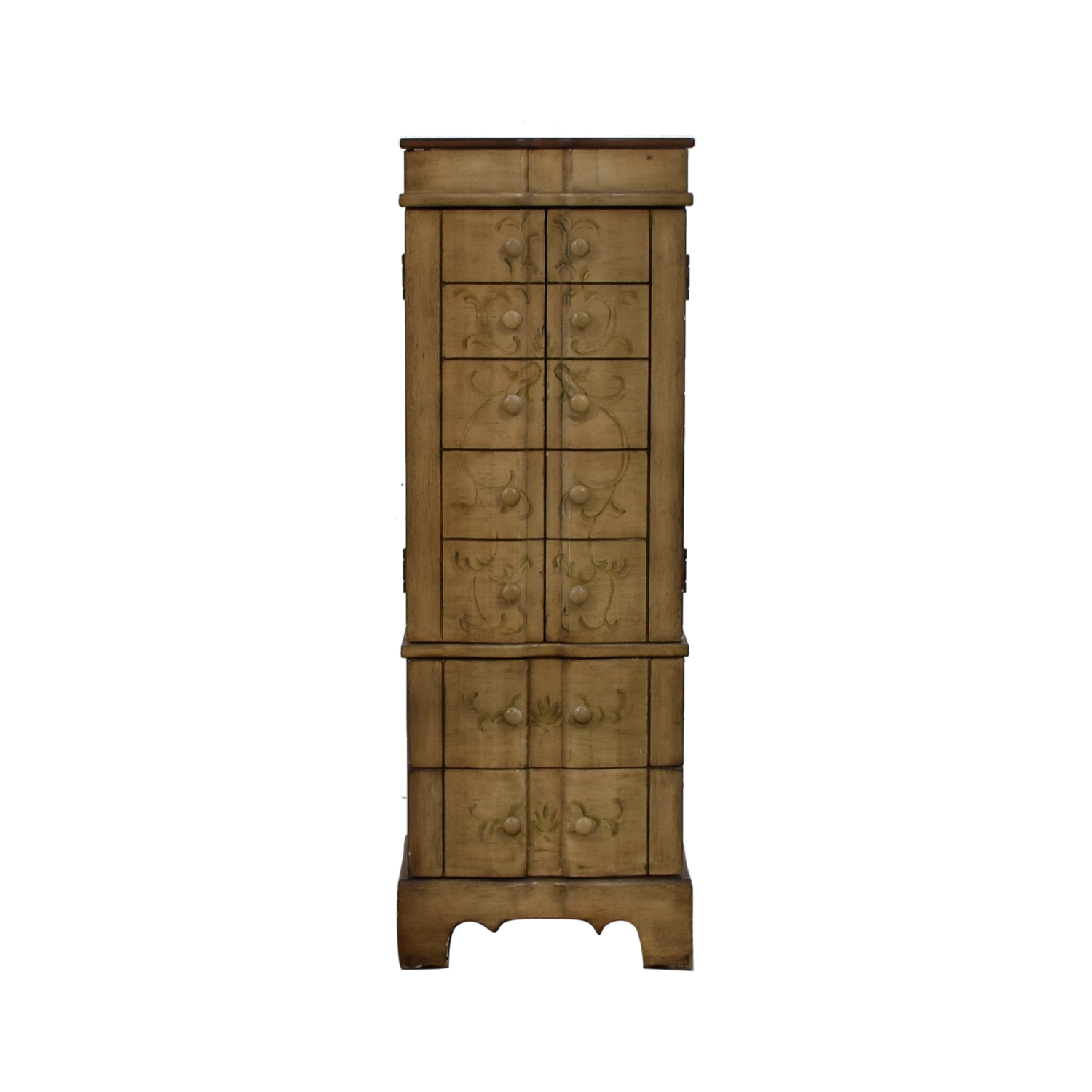 shop Rustic Wood Jewelry Cabinet