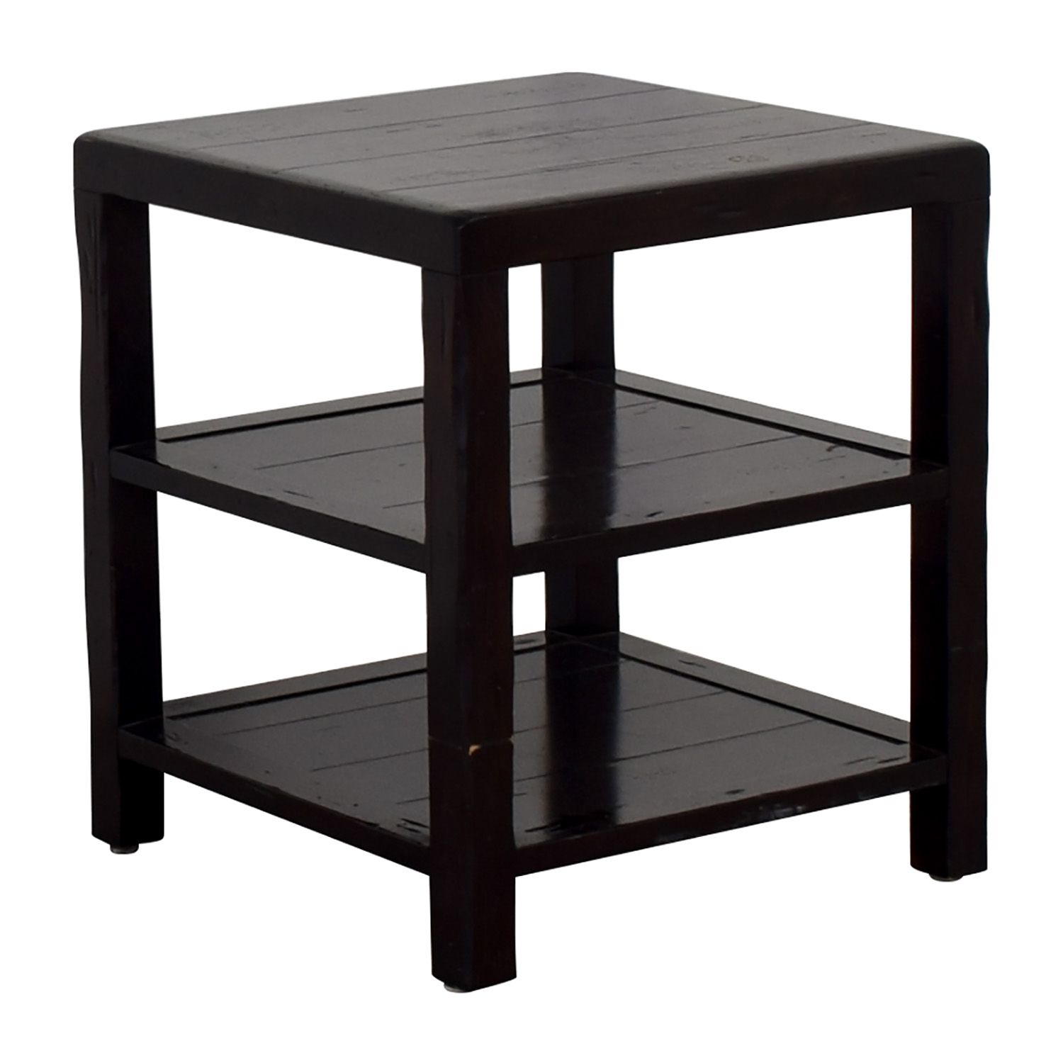 Crate Barrel Table: Crate & Barrel Crate & Barrel Brown End Table