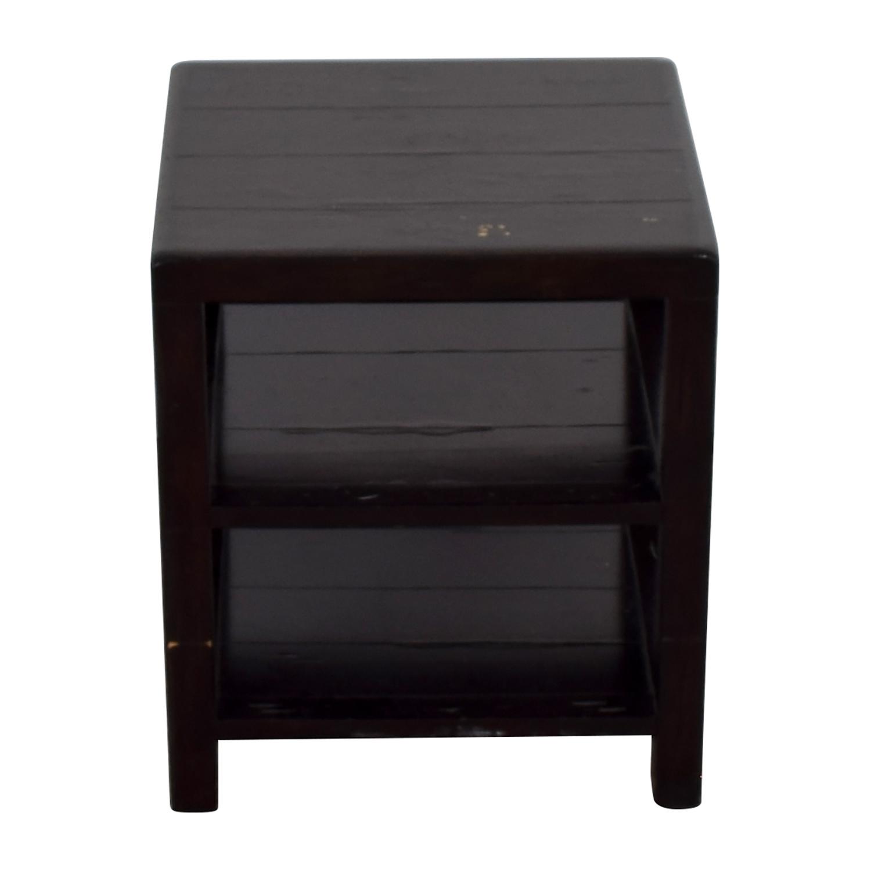 Crate U0026 Barrel Crate U0026 Barrel Brown End Table Price
