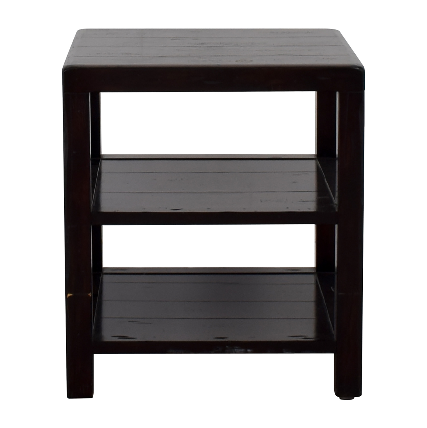 Crate & Barrel Crate & Barrel Brown End Table used