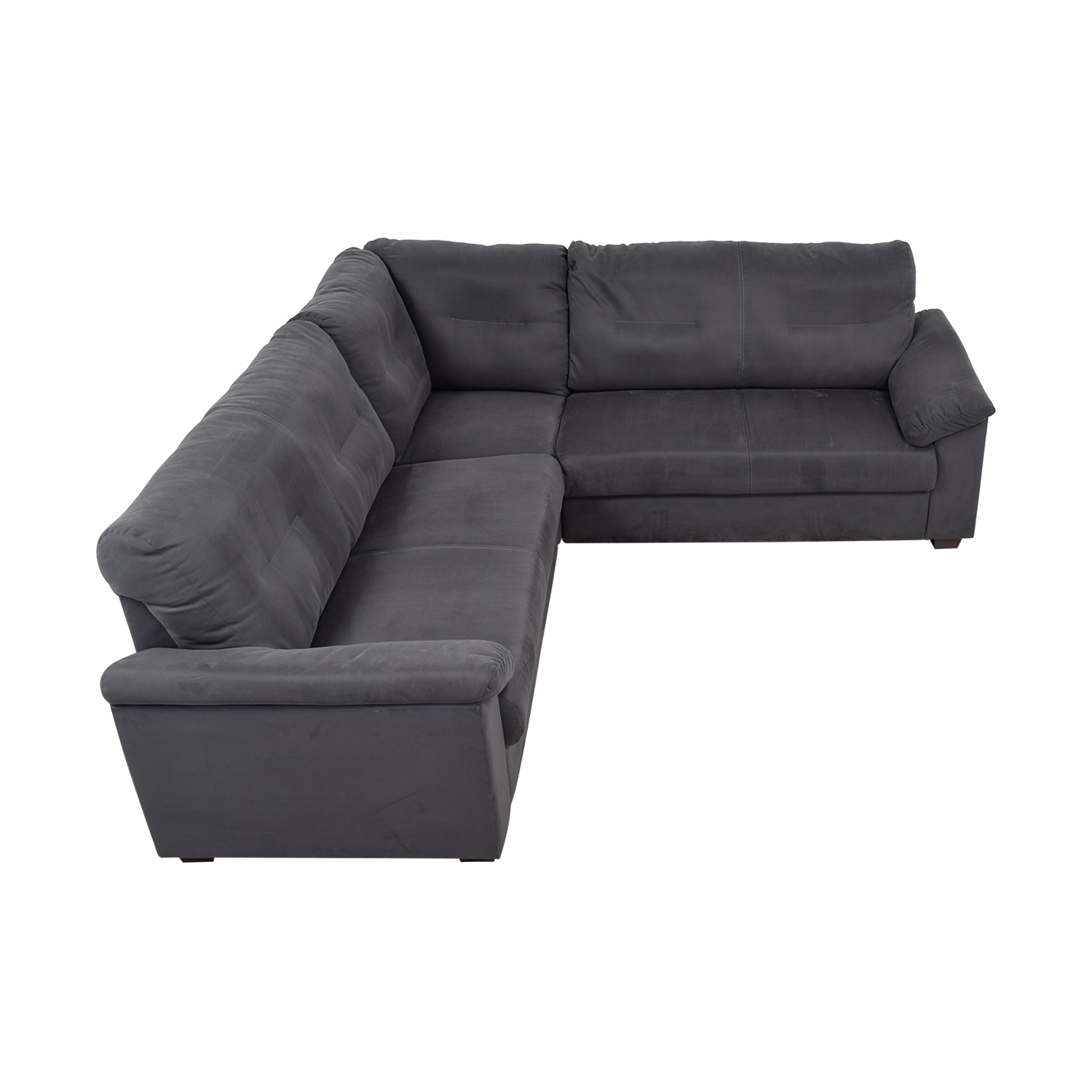 IKEA IKEA Grey L-Shaped Sectional on sale