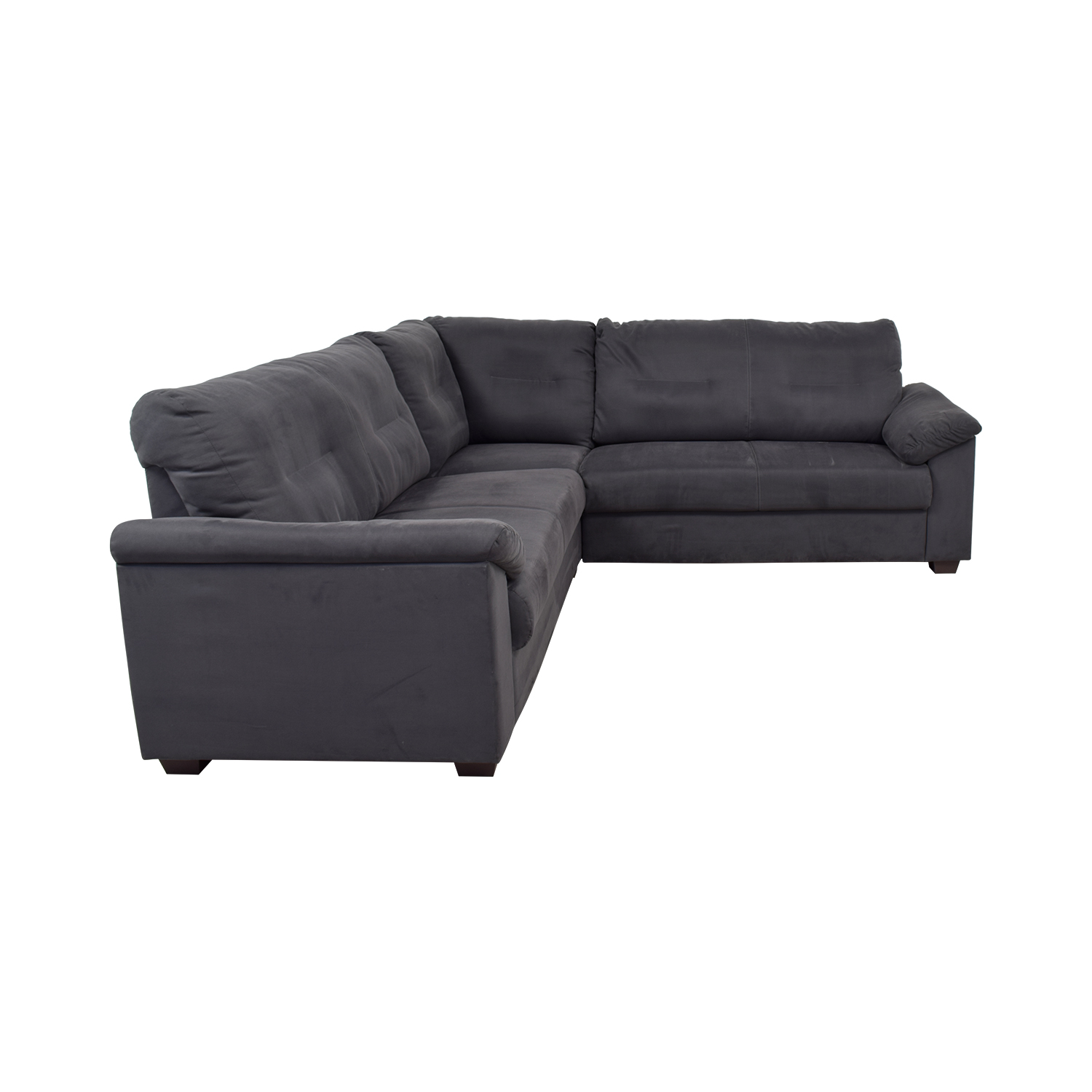 IKEA IKEA Grey L-Shaped Sectional coupon