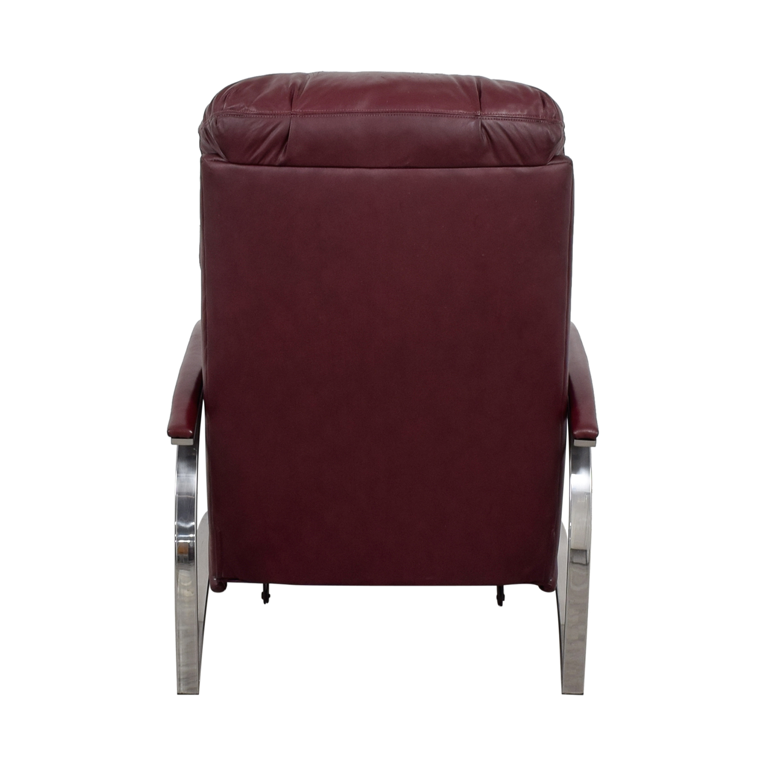 Burgundy Leather Recliner Chair coupon