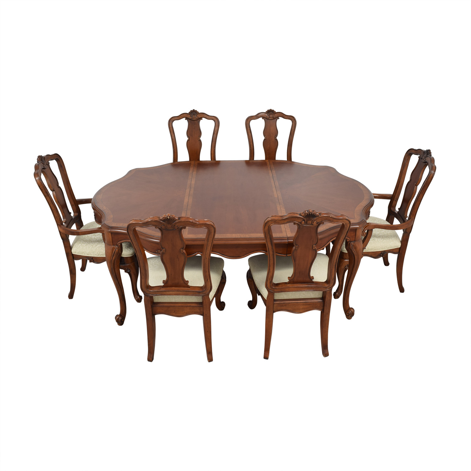 buy Macy's Dovetailed Wood Extendable Dining Set Macy's