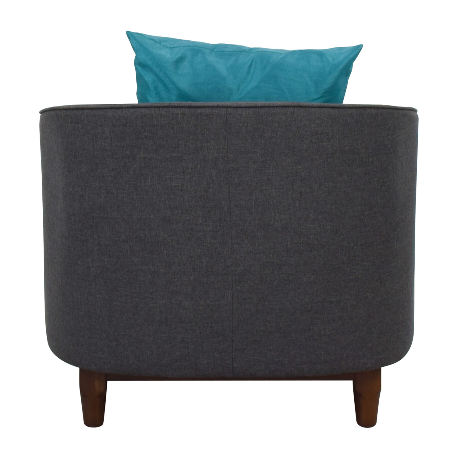 buy Modway Grey Upholstered Club Chair Modway