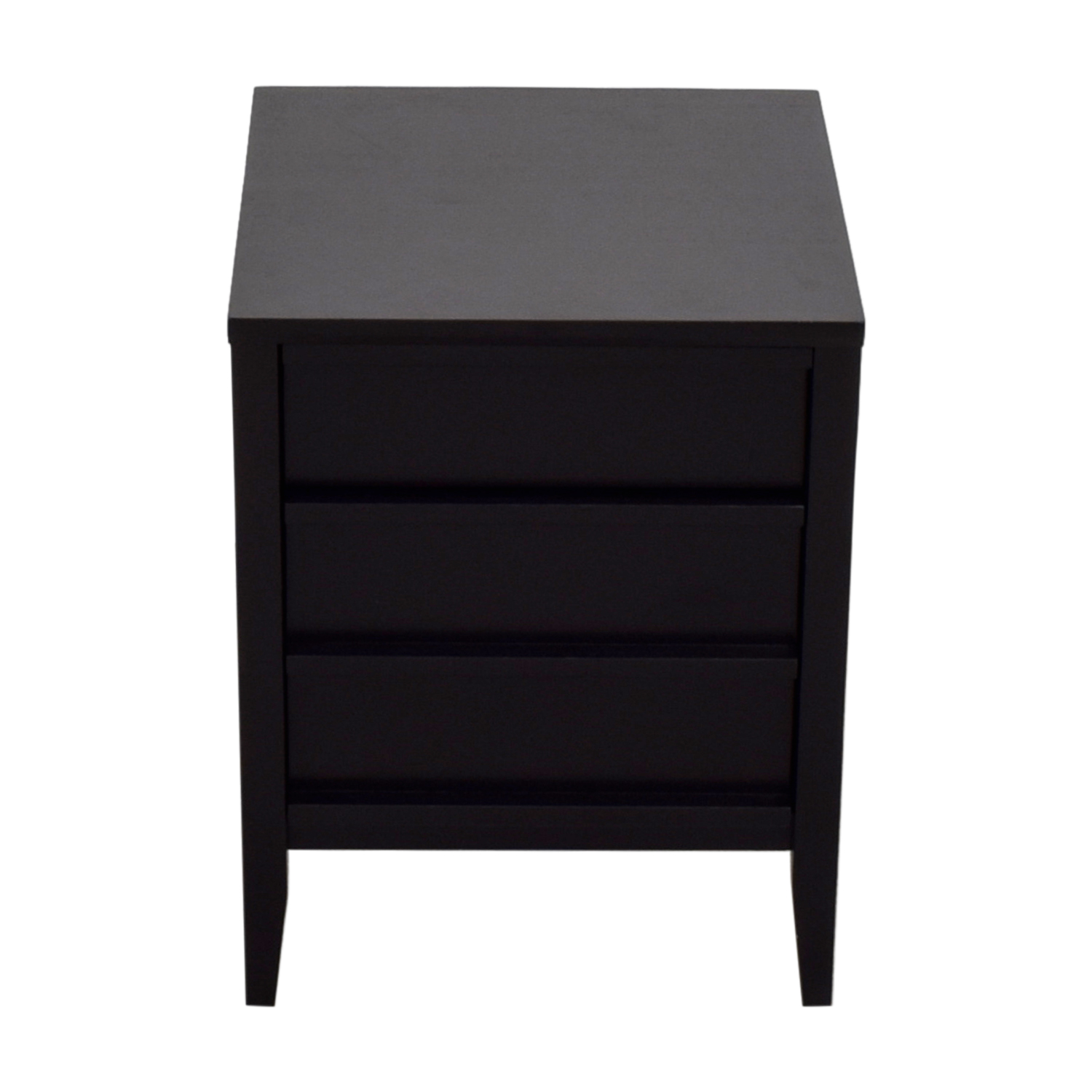 Crate & Barrel Crate & Barrel Two-Drawer File Cabinet dimensions