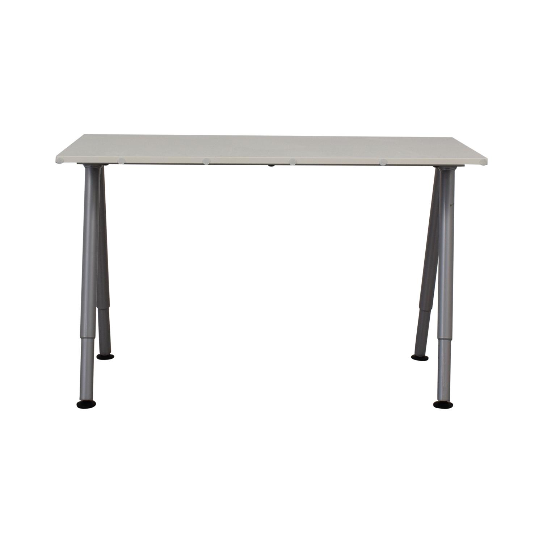 shop IKEA White Desk IKEA Tables