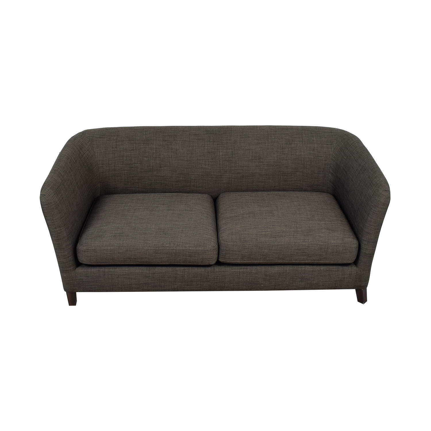 Crate & Barrel Ollie Gray Sofa Crate & Barrel