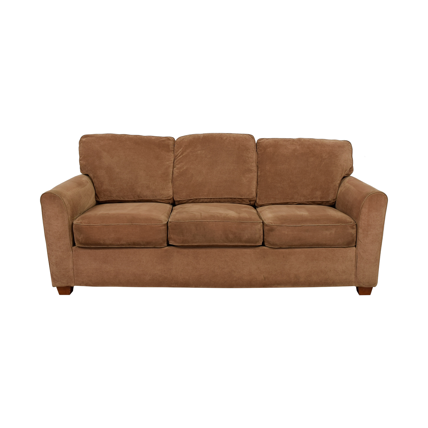 La Z Boy La Z Boy Tan Three Cushion Couch