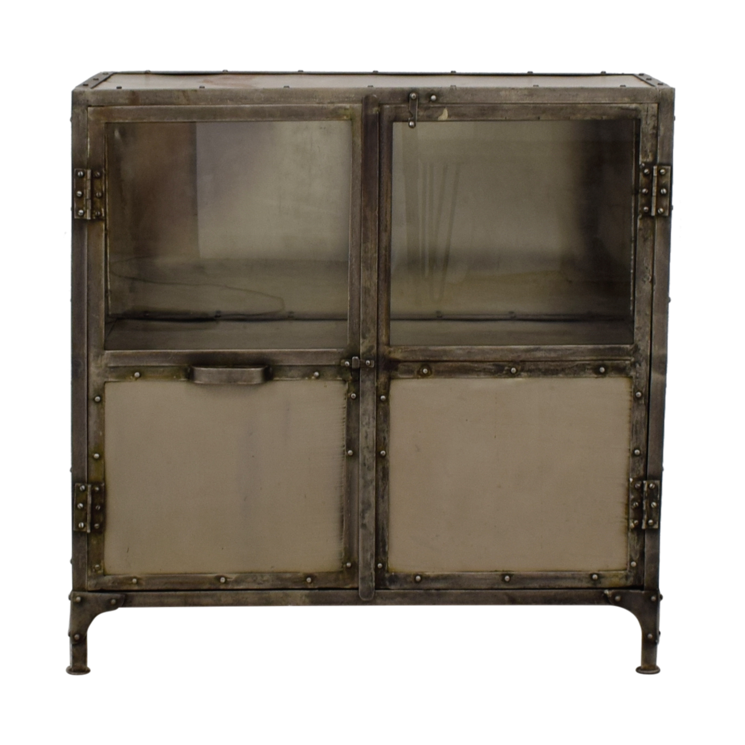 Horchow Horchow Industrial Metal Cabinet price