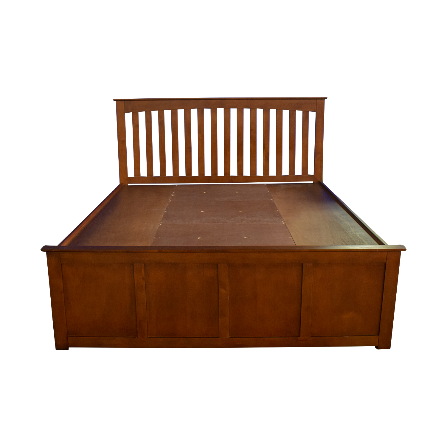 buy Raymour & Flanigan King Platform Bed Frame with Storage Drawers Raymour & Flanigan Beds