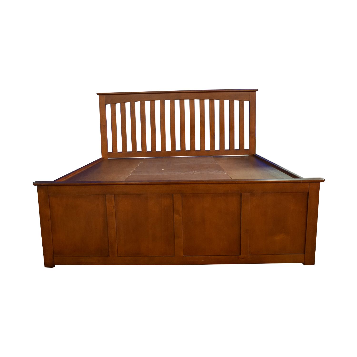 Raymour & Flanigan Raymour & Flanigan King Platform Bed Frame with Storage Drawers coupon