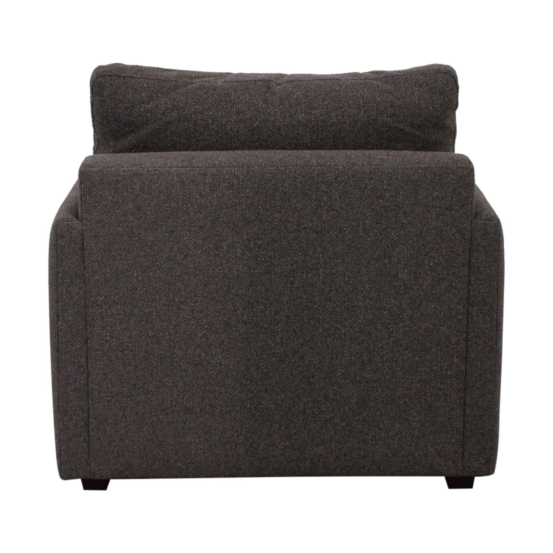 shop Crate & Barrel Crate & Barrel Love Grey Accent Chair online