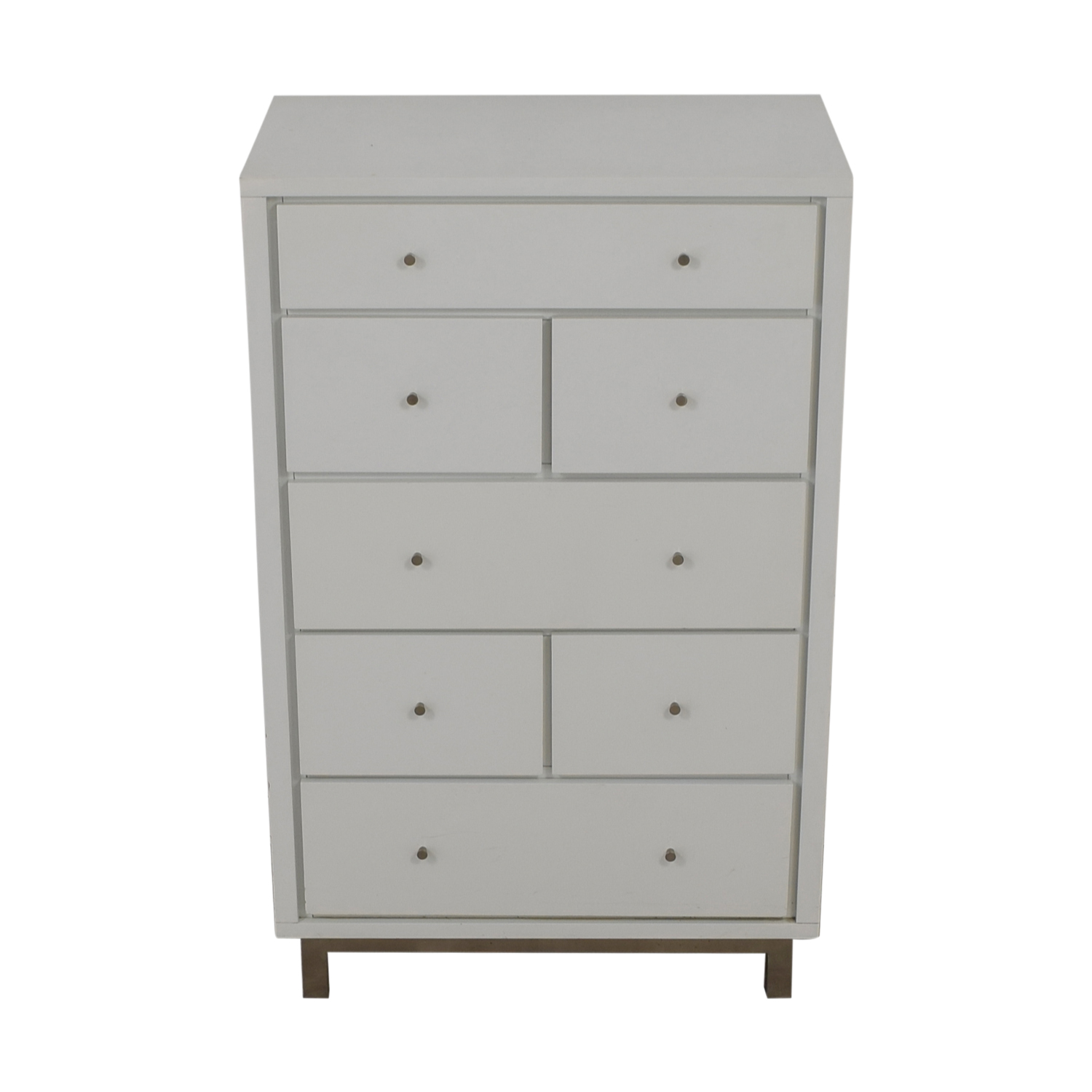 Crate & Barrel Crate & Barrel Cubix Seven Drawer Chest for sale