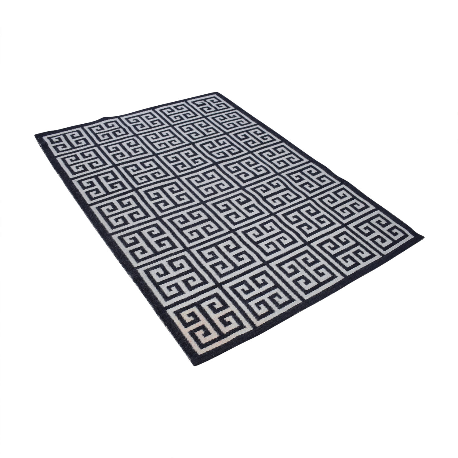 Jonathan Adler Black and White Rug / Rugs