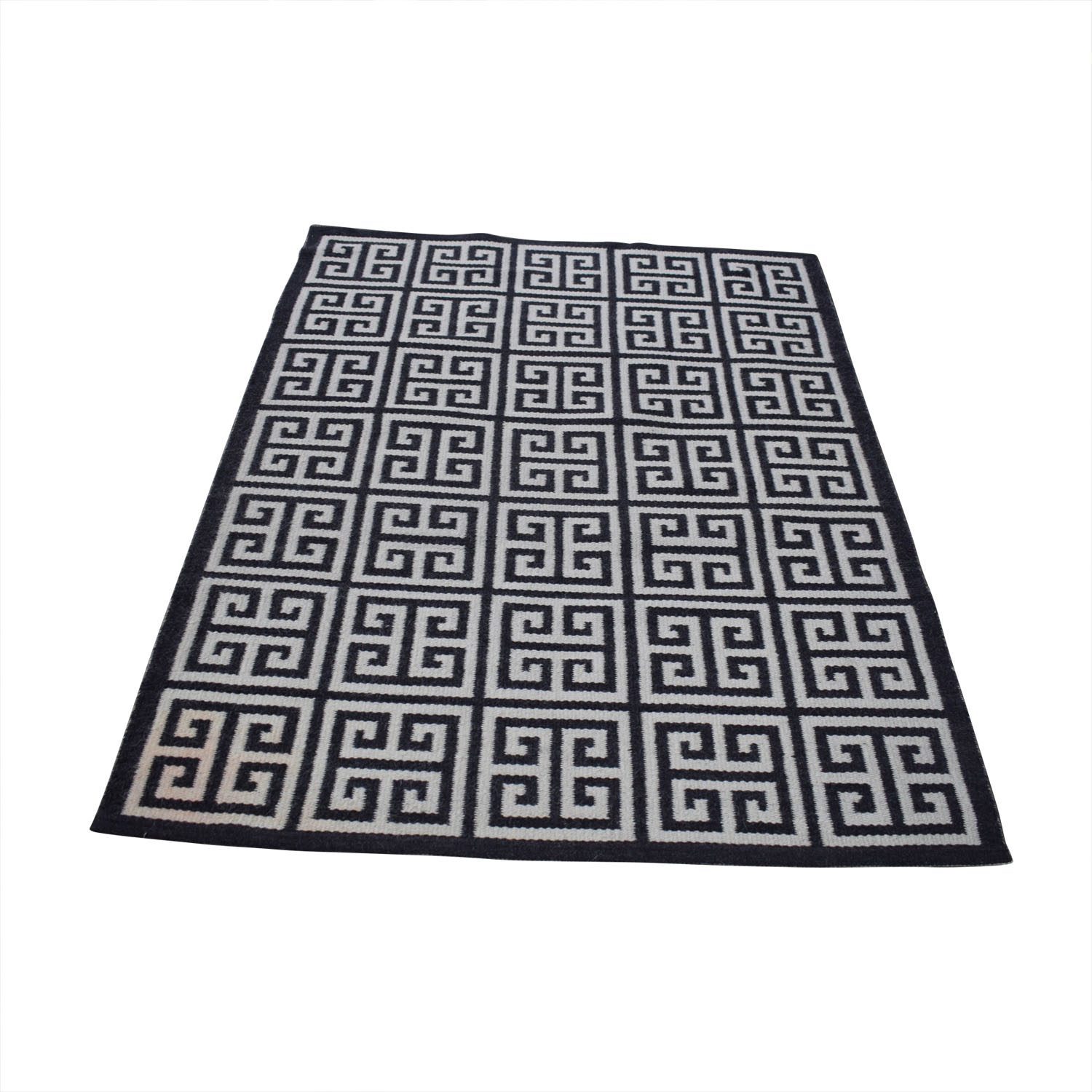 Jonathan Adler Jonathan Adler Black and White Rug discount