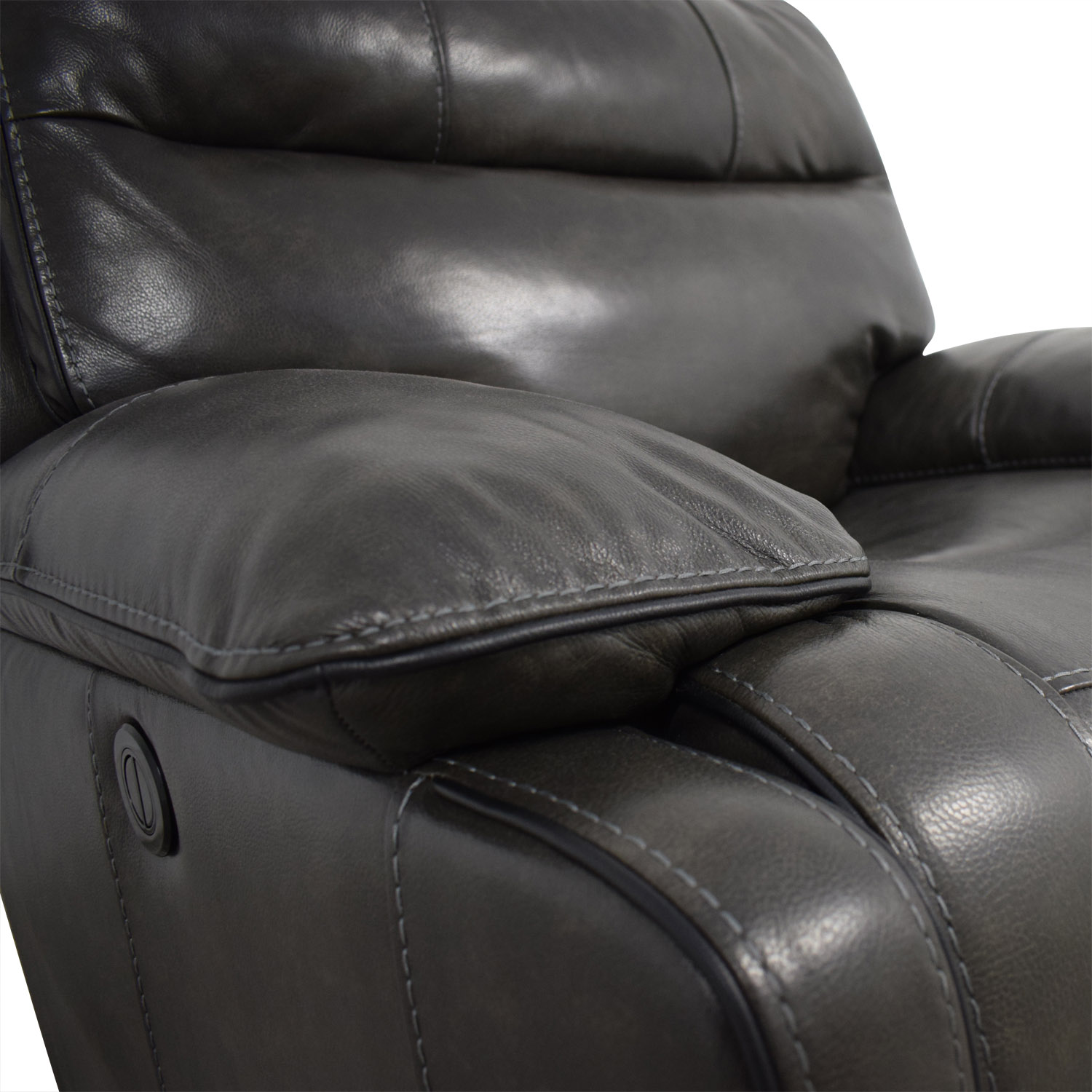 Palladum Palladum Leather Metal Power Recliner price