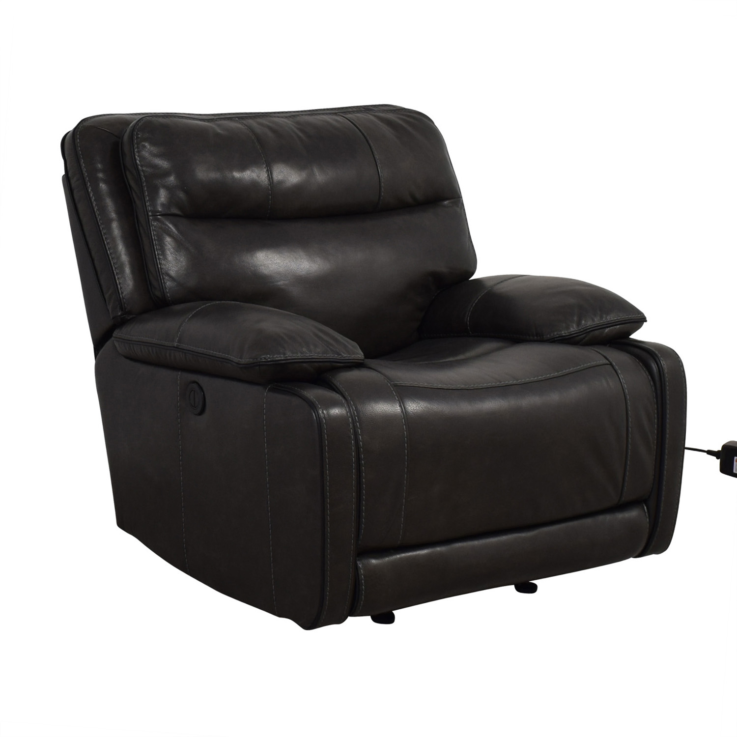 buy Palladum Leather Metal Power Recliner Palladum Recliners